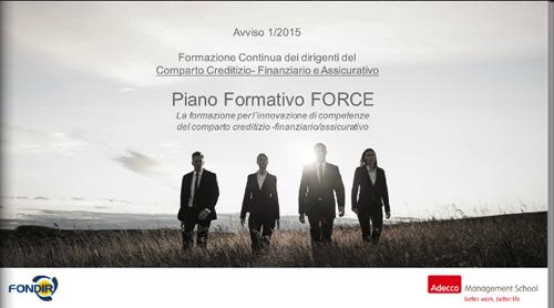 Piano formativo Force