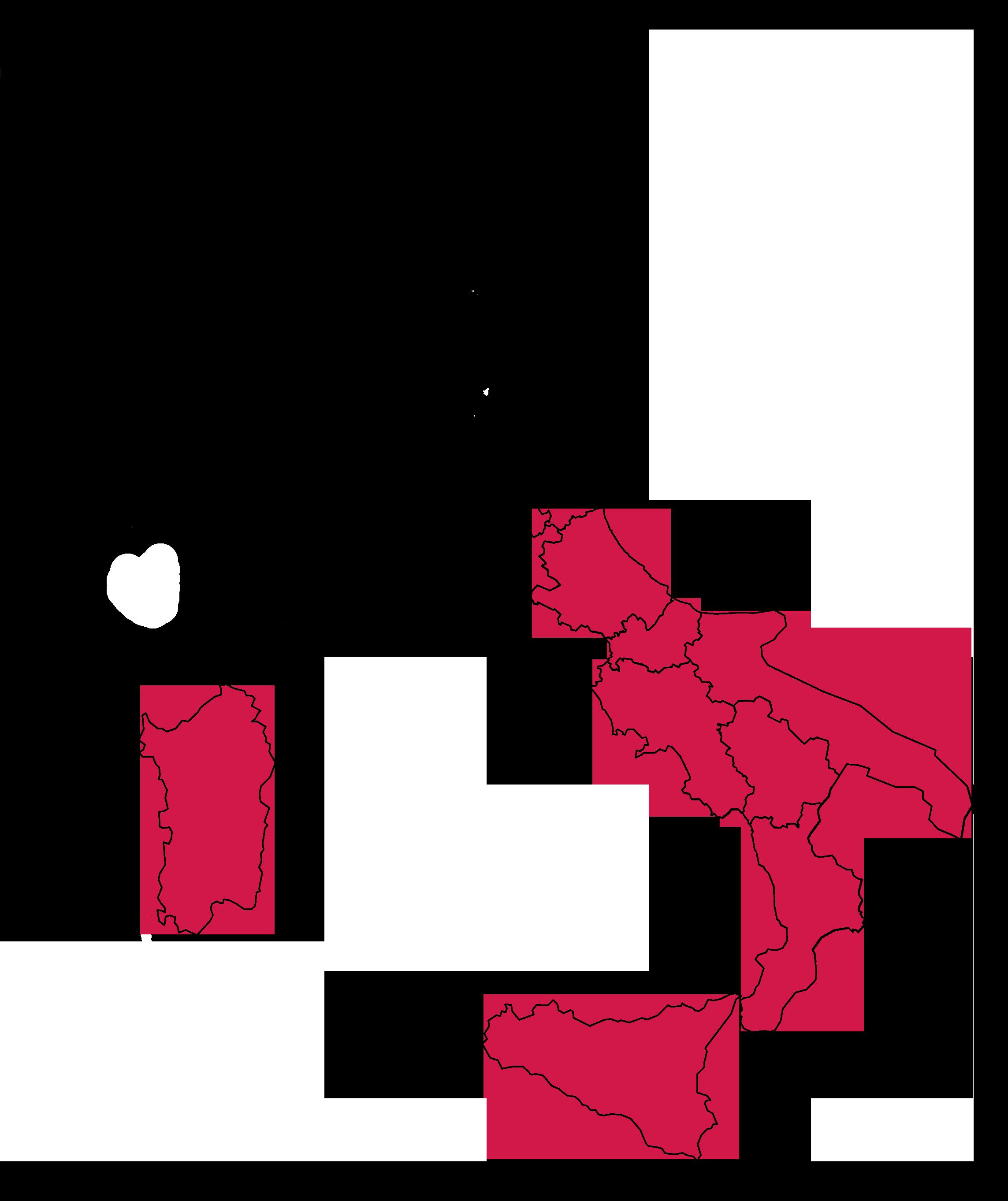 Cartina Geografica Occupazione Sud